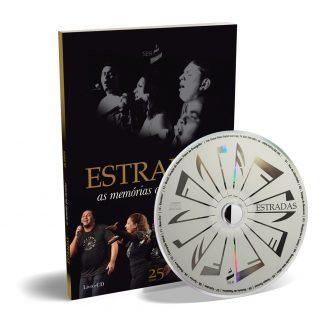 Livro-CD com Músicas Espíritas - Grupo Estradas de Minas Gerais Formado na Mocidade da União Espírita Mineira .